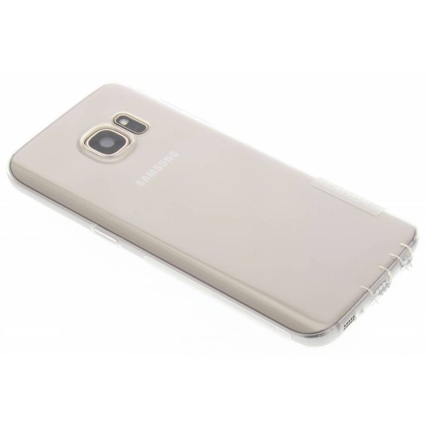 Nature TPU case voor de Samsung Galaxy S7 - Transparant
