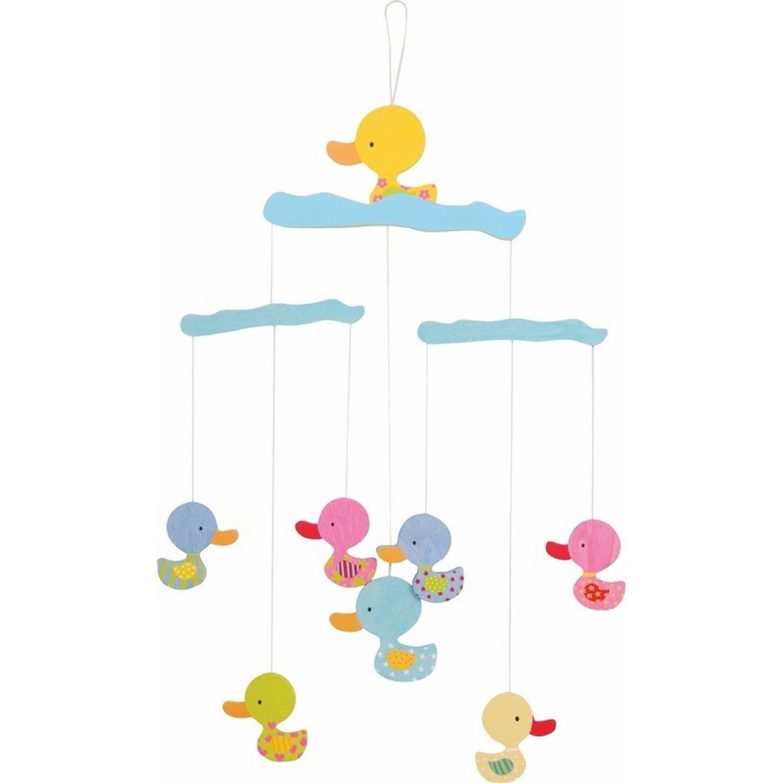 Hangdecoratie mobiel met eenden