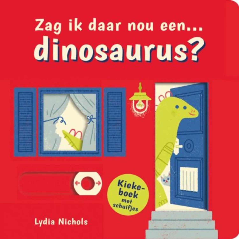 Kiekeboek Zag ik daar nou... Een dinosaurus?