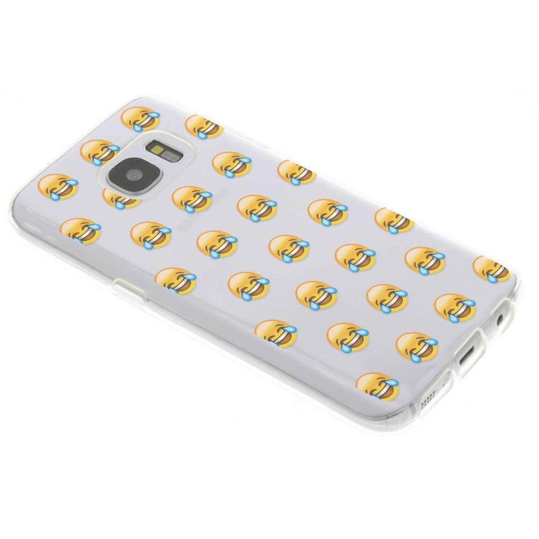 Cas Emoji Design Tpu Pour Samsung Galaxy S7 mjriw