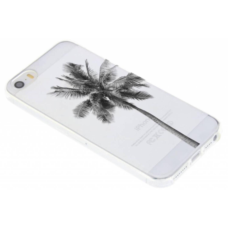 Palmtree design TPU hoesje voor de iPhone 5 / 5s / SE