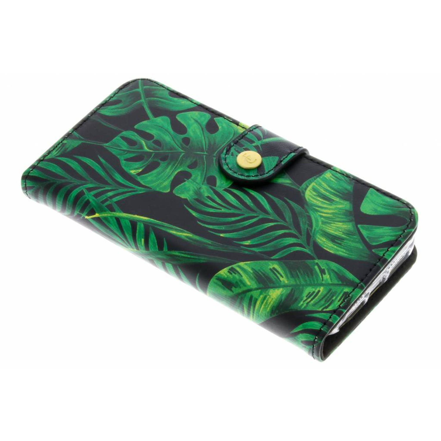 Monstera Leafs Booklet voor de iPhone 5 / 5s / SE