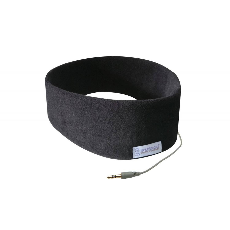 Sleepphones® classic fleece zwart - large/extra large