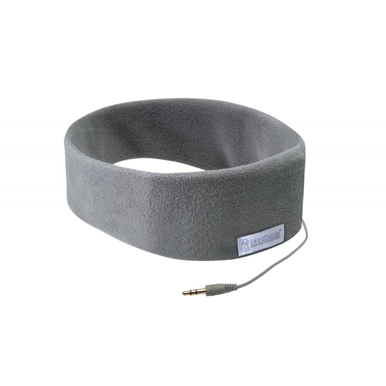 Sleepphones® classic fleece grijs - large/extra large