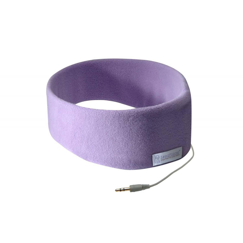 Sleepphones® classic fleece lavendel - small/extra small