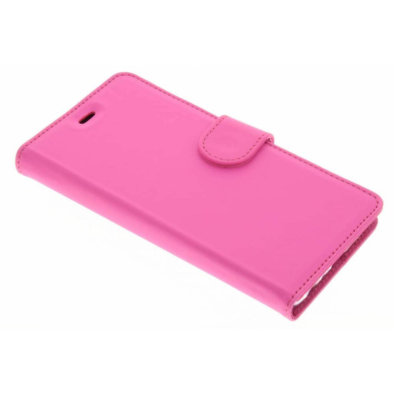 Wallet tpu booklet voor de huawei p9 - roze