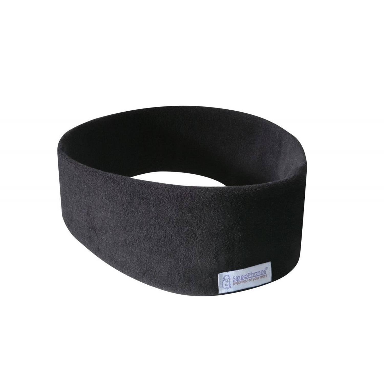 Sleepphones� draadloos fleece zwart small-extra small