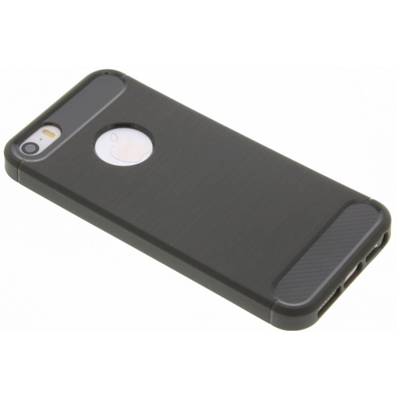 Grijze Brushed TPU case voor de iPhone 5 / 5s / SE