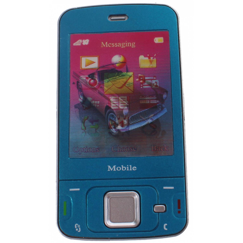 ea0693a5497 Johntoy mobiele speelgoed telefoon blauw 13 x 5.5 | Blokker
