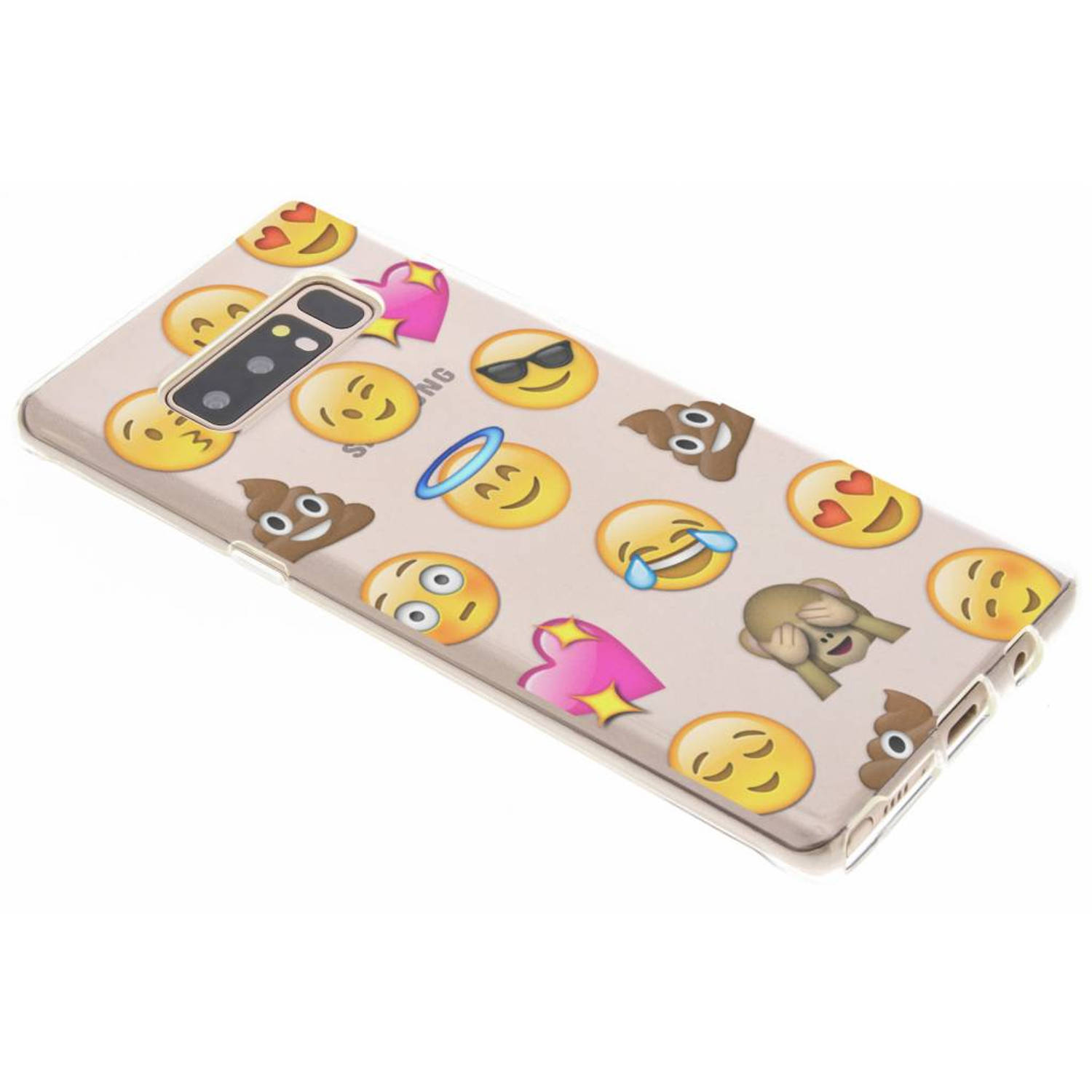 Emoji Smiley TPU hoesje voor de Samsung Galaxy Note 8