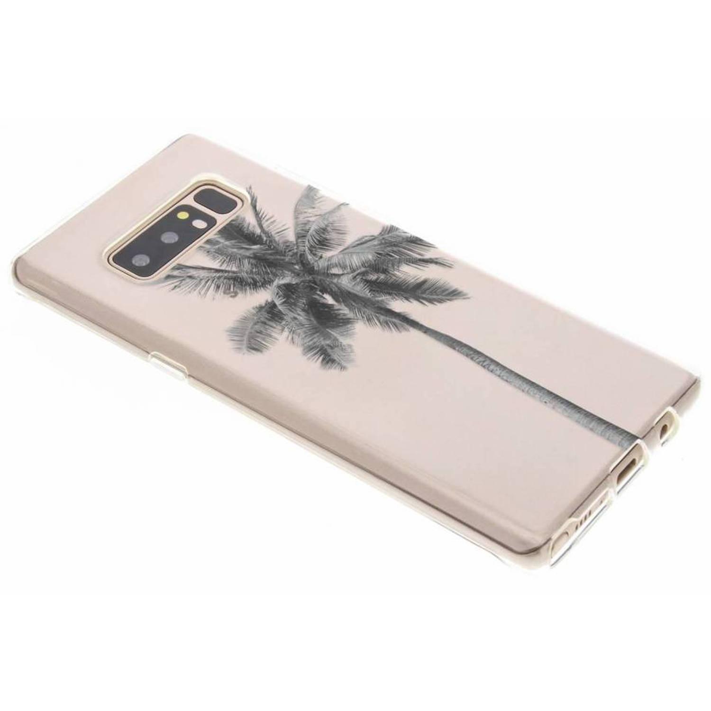Palmtree design TPU hoesje voor de Samsung Galaxy Note 8