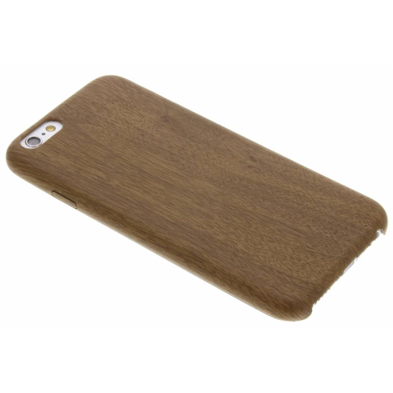 Bruine Houten TPU case voor de iPhone 6-6s