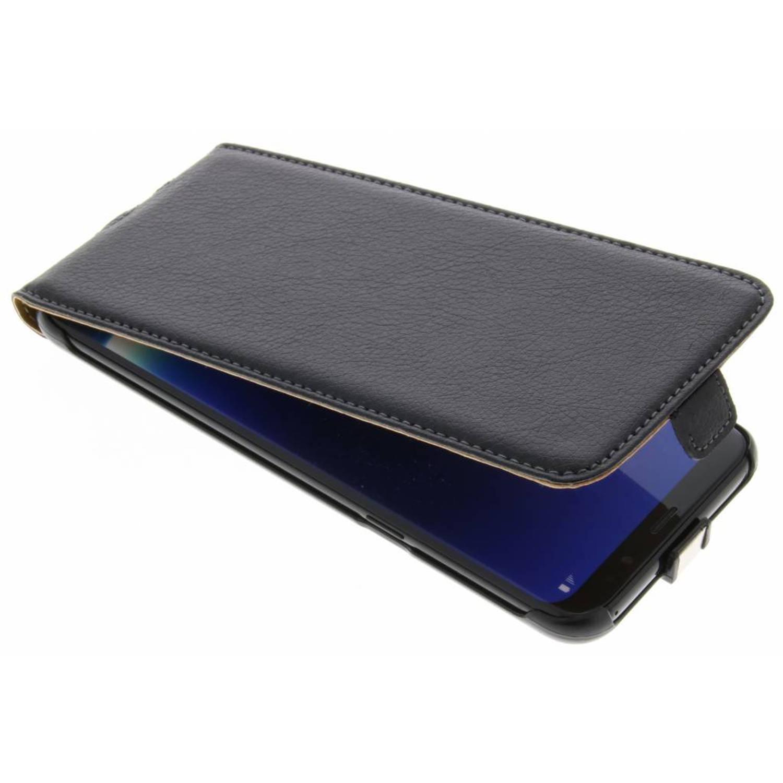 Zwarte Smartcase voor de Samsung Galaxy S8 Plus