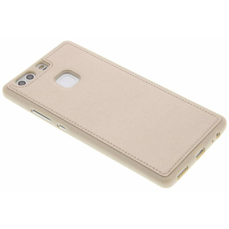 Boîtier En Tpu Cuir Métallisé Or Pour Samsung Galaxy S / J3 (2016) b61xdZw