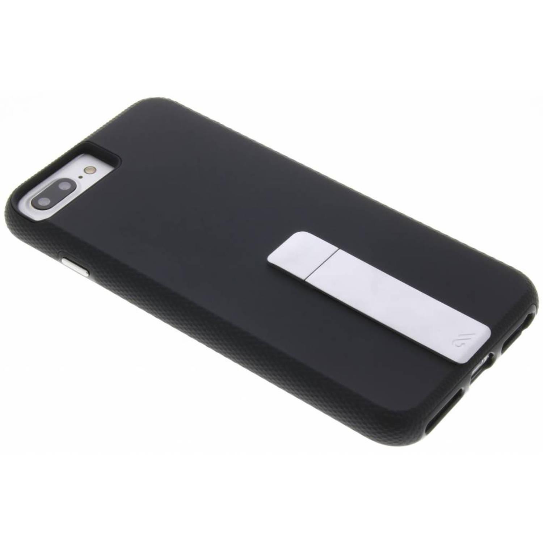 Zwarte Tough Stand Case voor de iPhone 8 Plus / 7 Plus