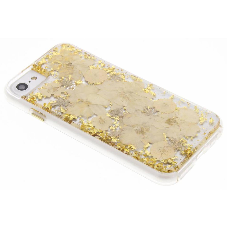 Gouden Karat Petals Case voor de iPhone 8 / 7