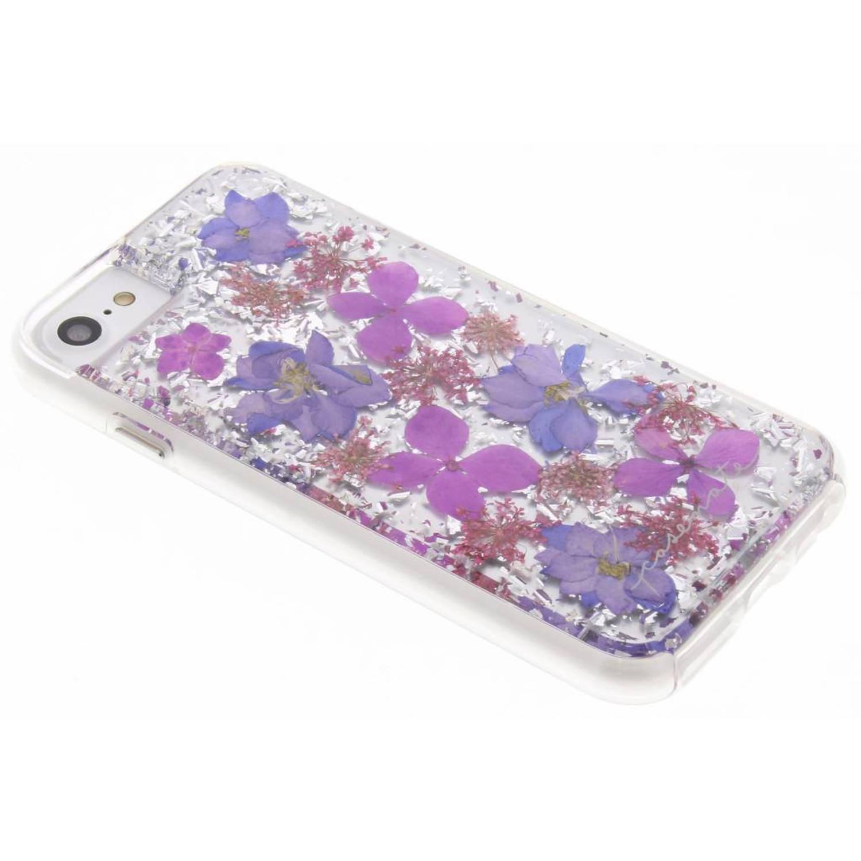 Paarse Karat Petals Case voor de iPhone 8 / 7