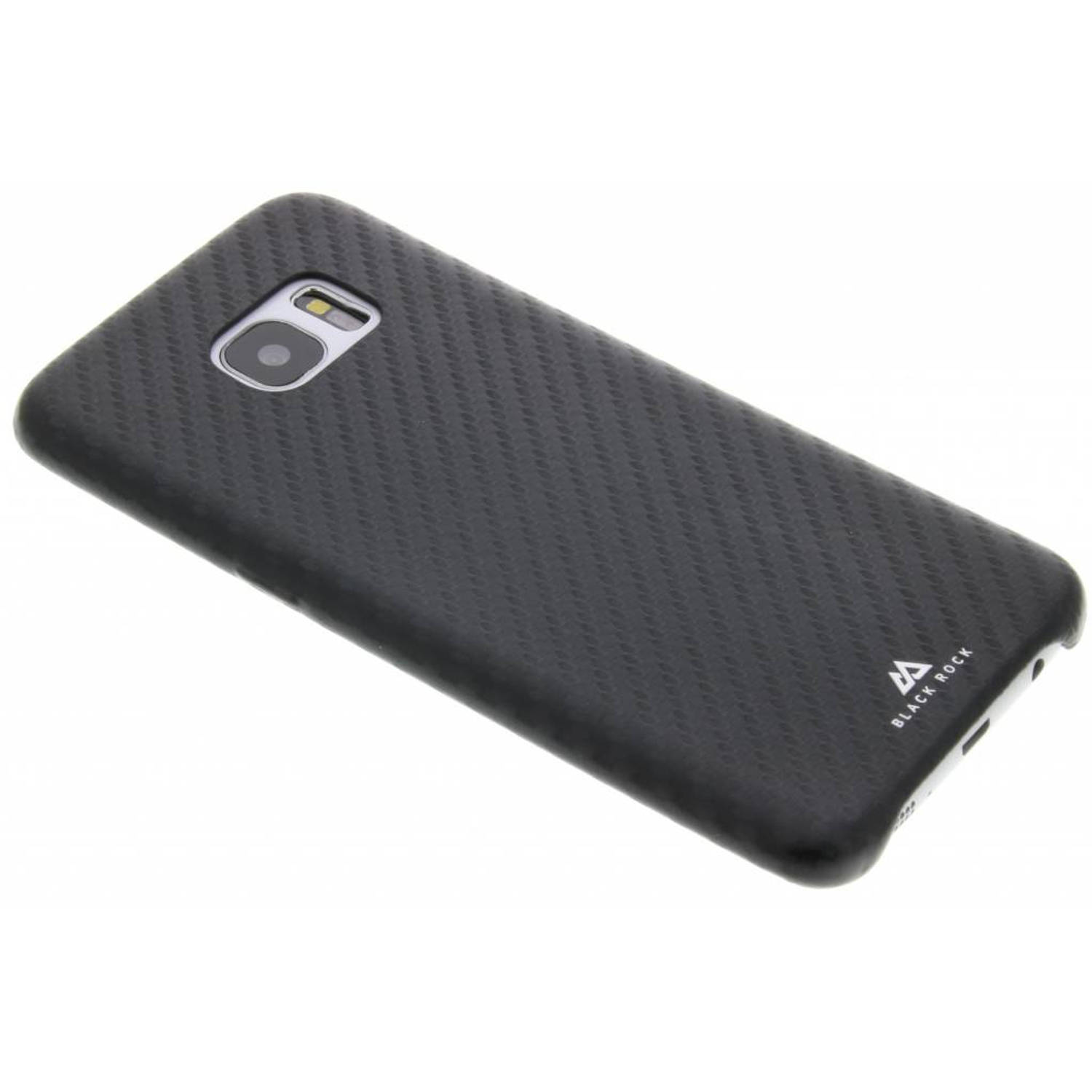 Flex carbon case voor de samsung galaxy s7 edge - zwart