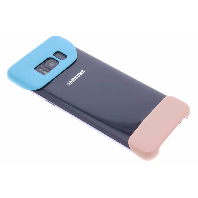 Blauwe / Roze 2Piece Cover voor de Galaxy S8