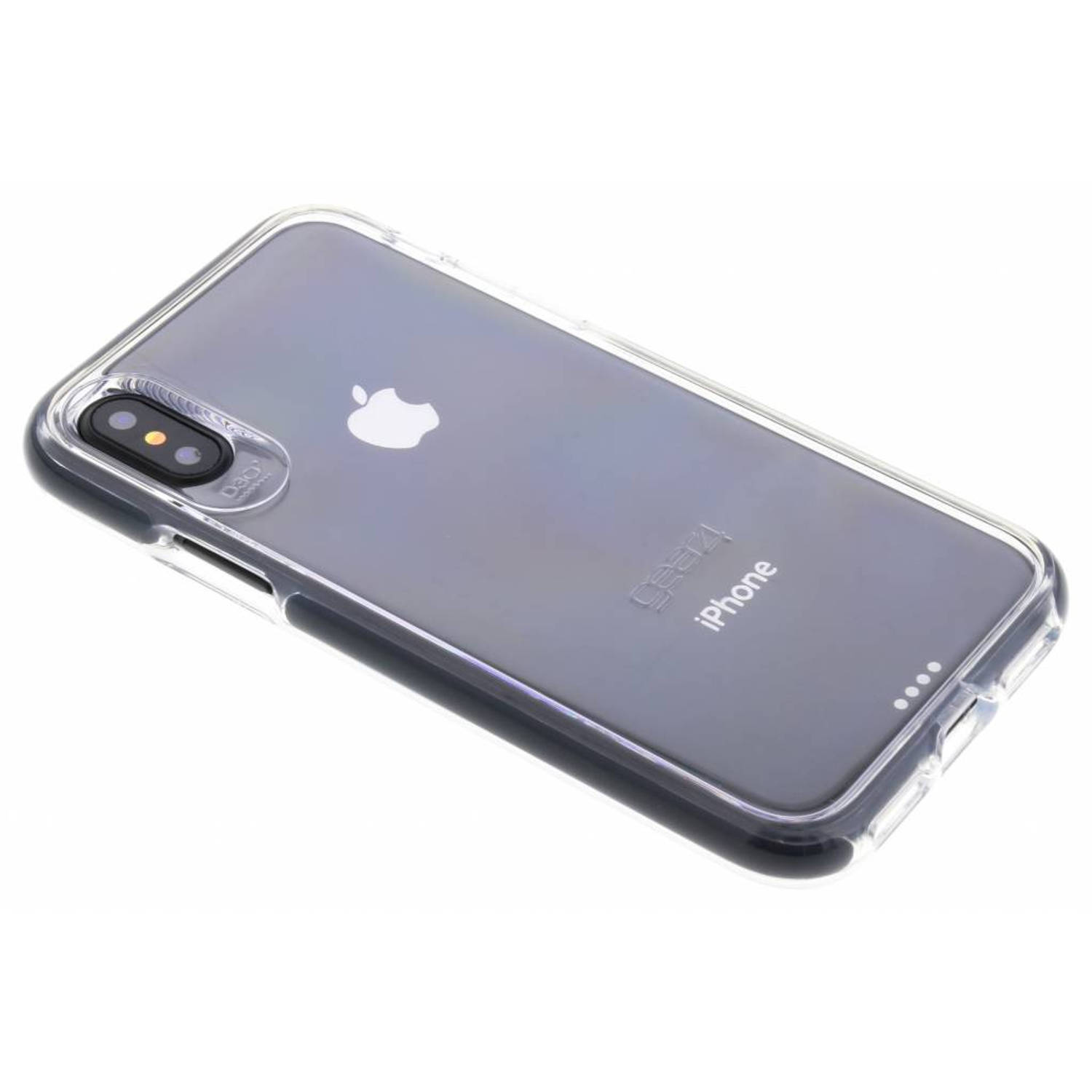 Zwarte D3O Piccadilly Case voor de iPhone Xs / X