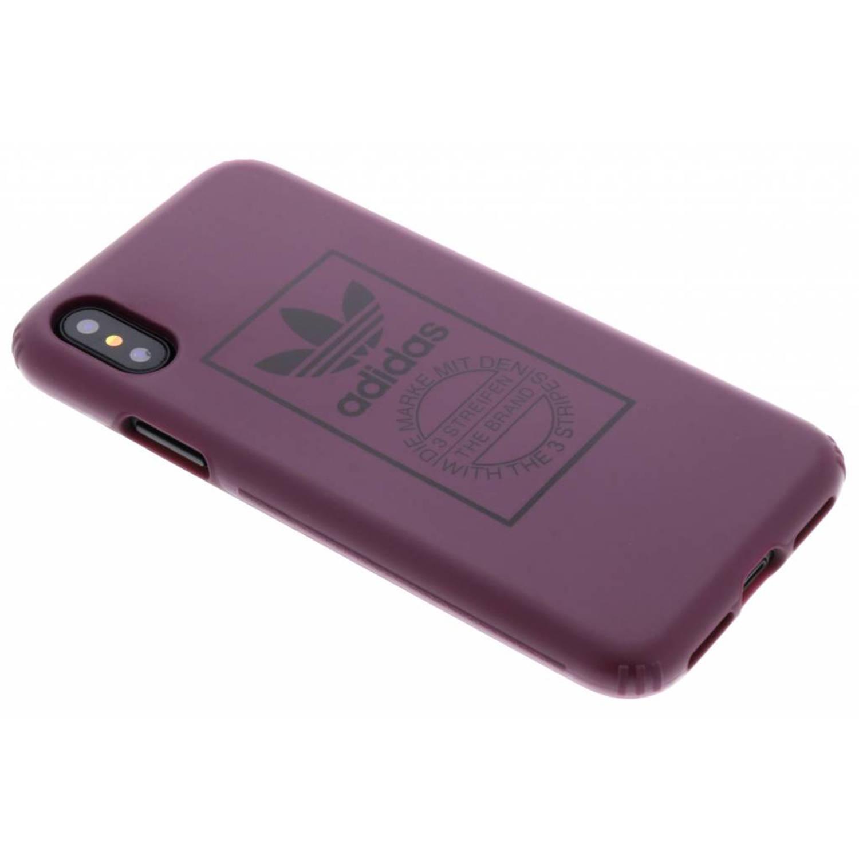 Maroon TPU Hard Cover voor de iPhone Xs / X