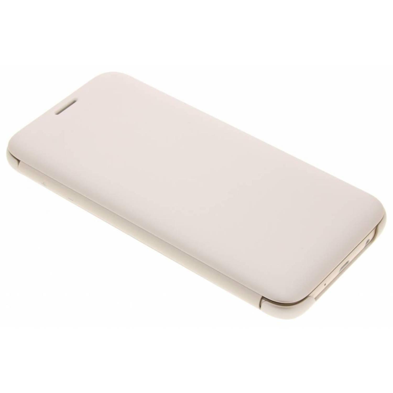 Gouden Wallet Cover voor de Samsung Galaxy J7 (2017)