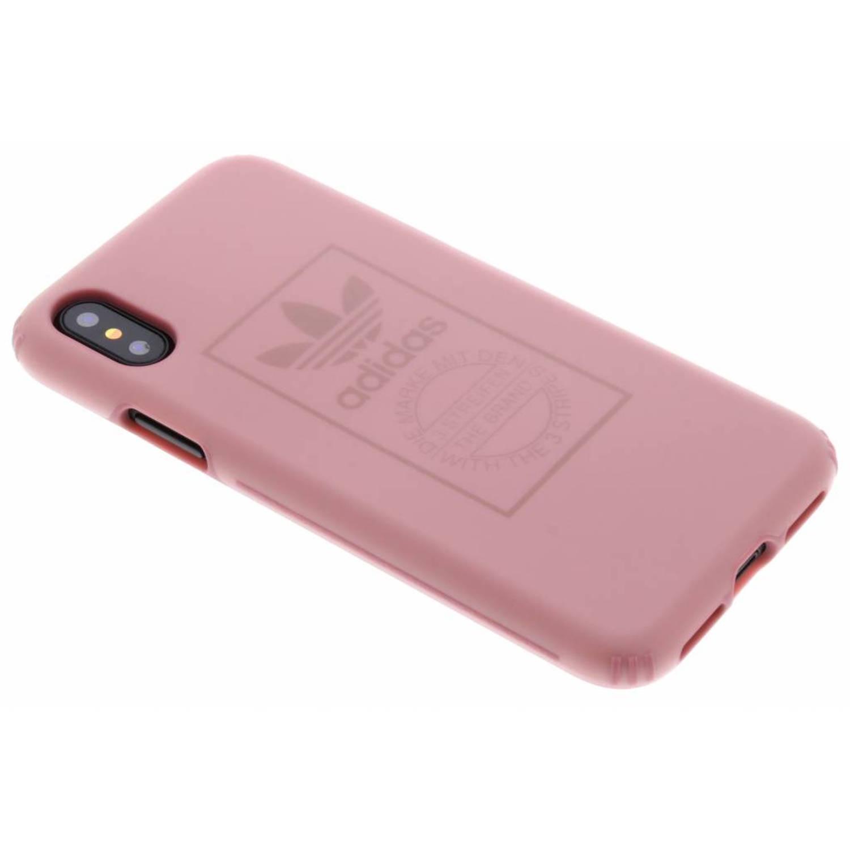 Roze TPU Hard Cover voor de iPhone Xs / X