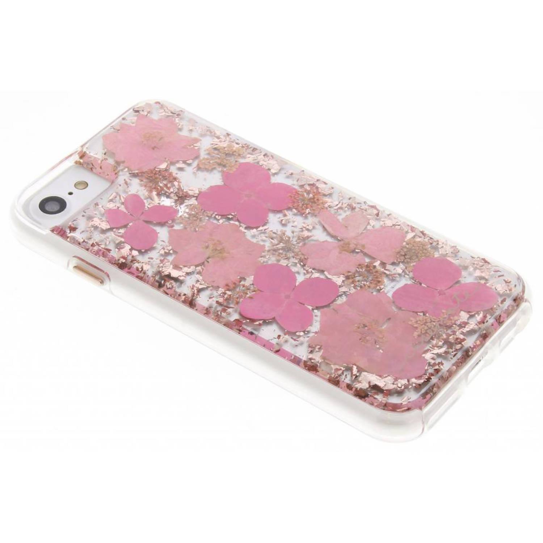 Roze Karat Petals Case voor de iPhone 8 / 7
