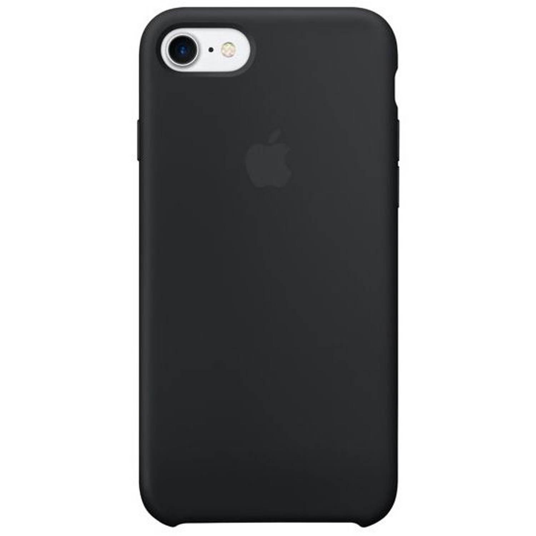 Zwarte Silicone Case voor de iPhone 8 / 7