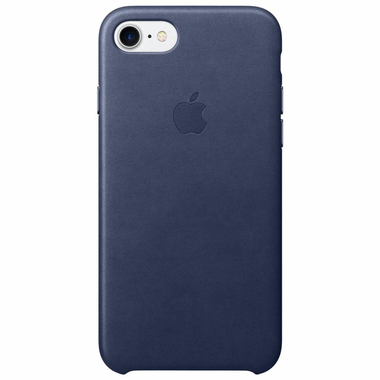 Donkerblauwe Leather Case voor de iPhone 8 / 7