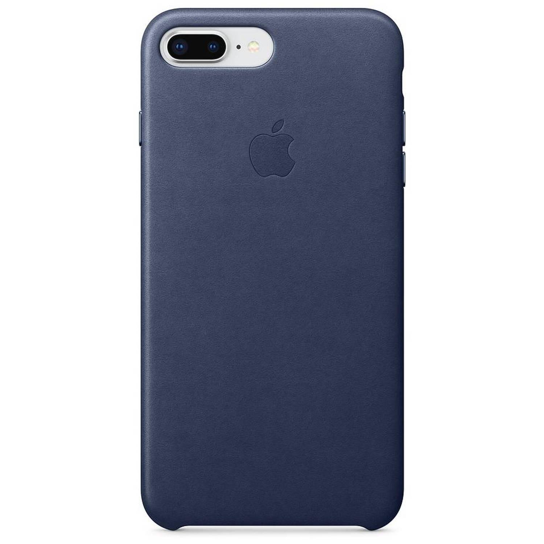 Donkerblauwe Leather Case voor de iPhone 8 Plus / 7 Plus