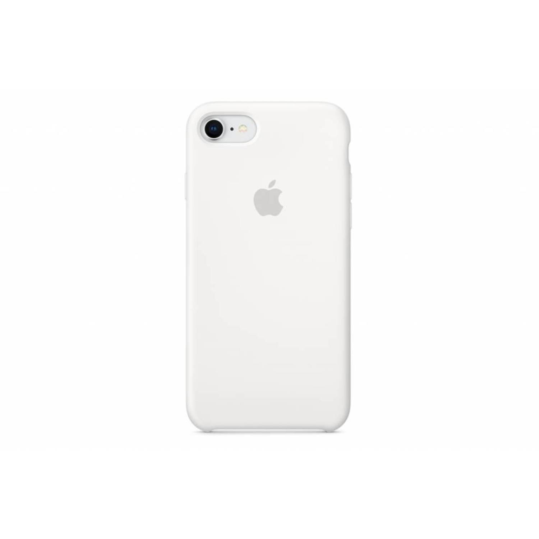 Witte silicone case voor de iphone 8 / 7