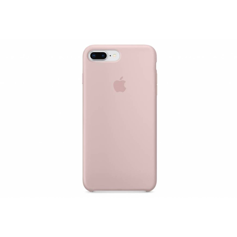 Roze silicone case voor de iphone 8 plus / 7 plus