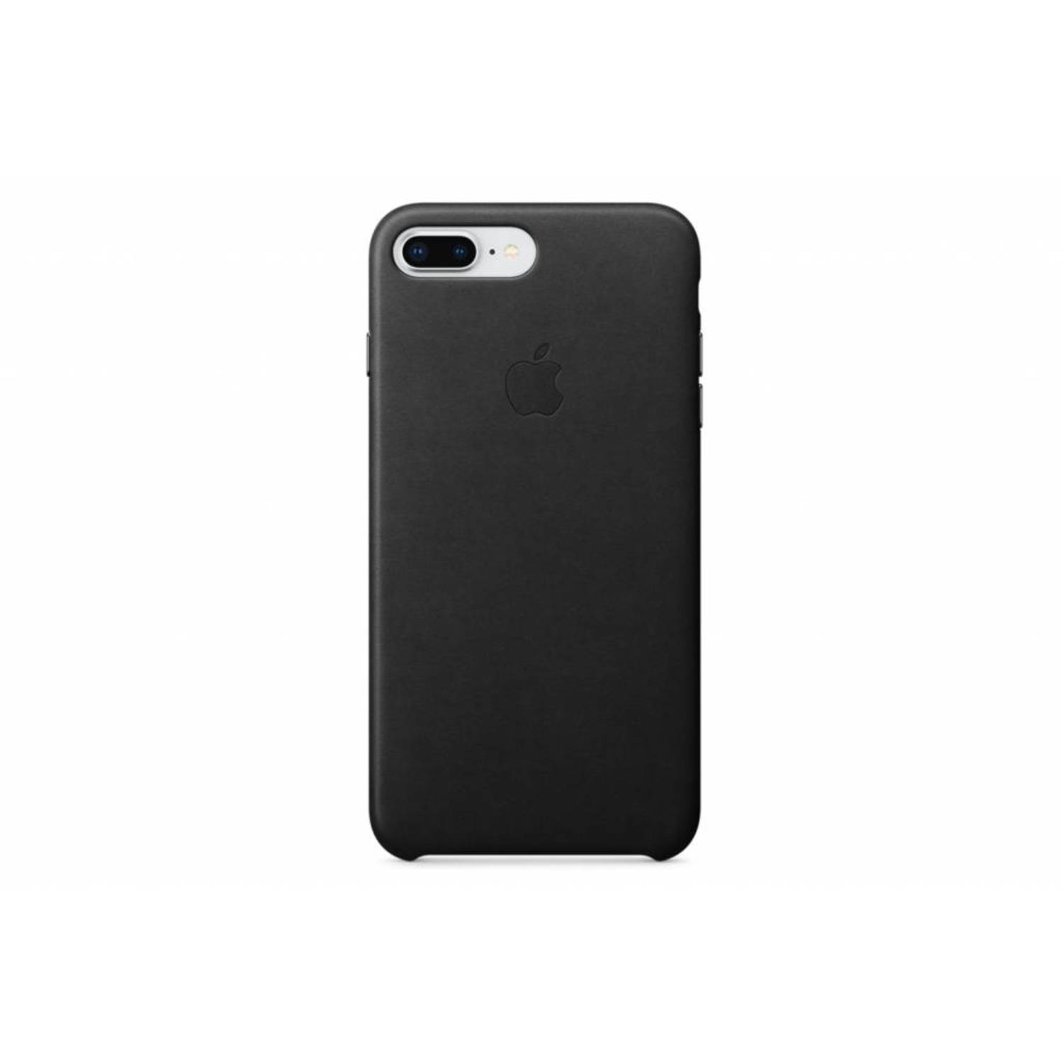 Apple Case voor iPhone 7 (8) Plus, Leder (zwart)