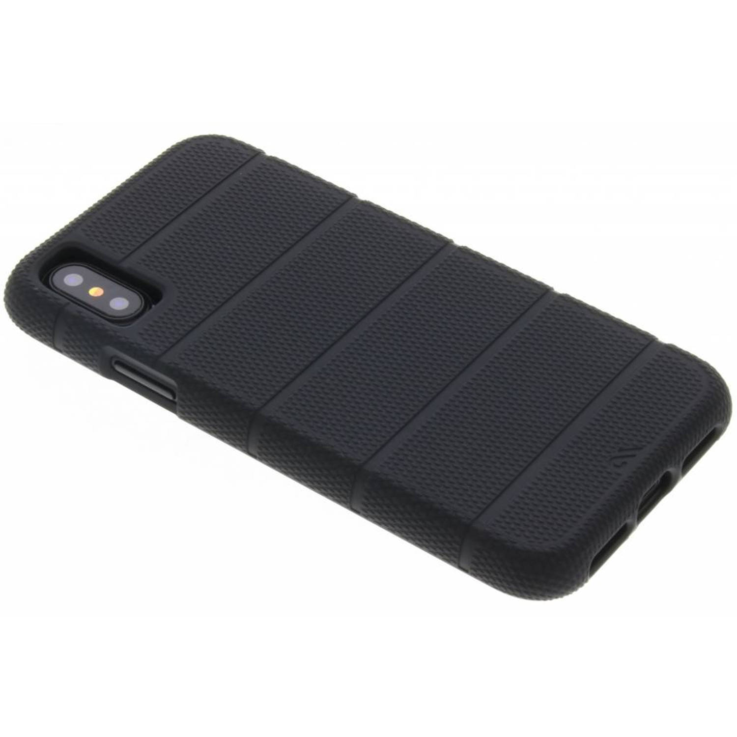 Zwarte Tough Mag voor de iPhone Xs / X
