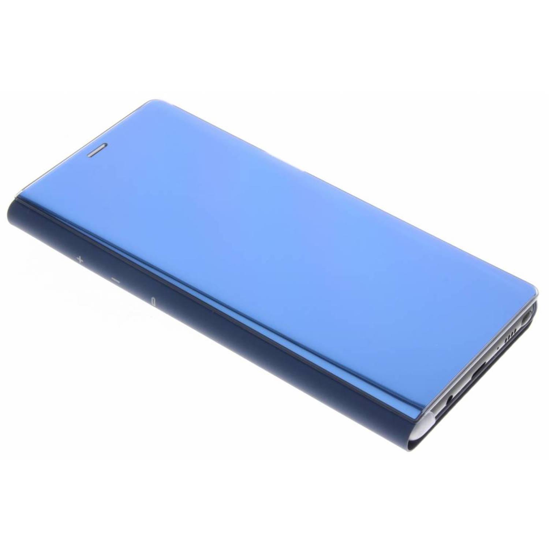 Blauwe Clear View Standing Cover voor de Galaxy Note 8