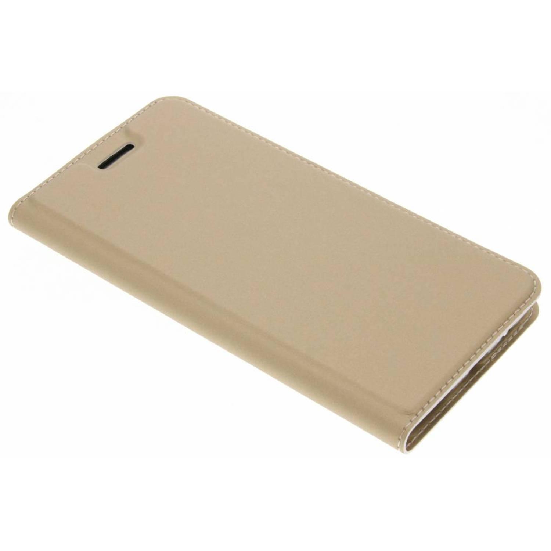 Gouden Slim TPU Booklet voor de OnePlus 5