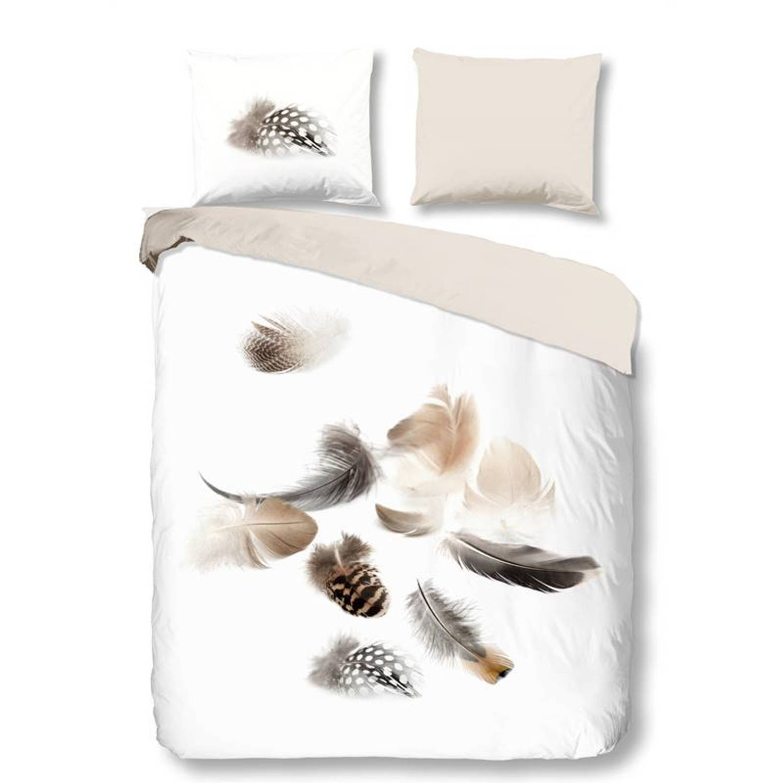 Snoozing Feathery flanel dekbedovertrek - Lits-jumeaux (240x200/220 cm + 2 slopen)