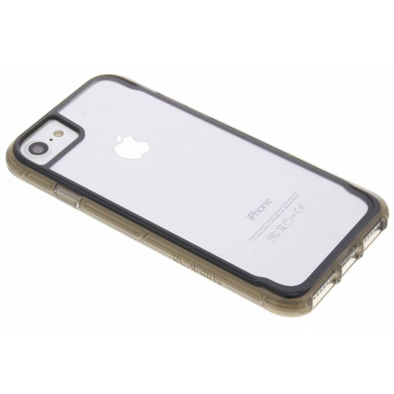 Zwarte Survivor Clear Case voor de iPhone 8 / 7 / 6 / 6s