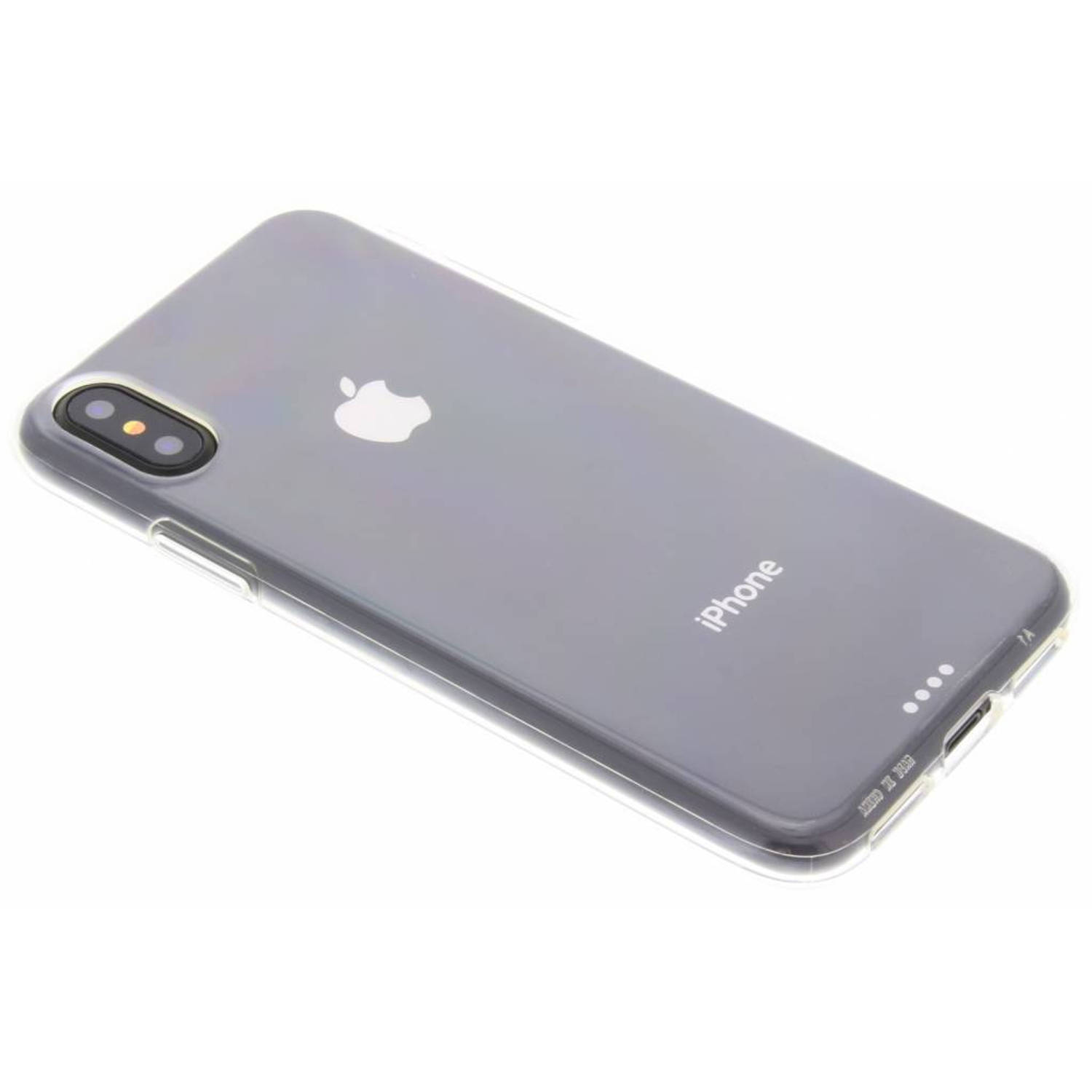 Image of Transparante clearly protected case voor de iphone x
