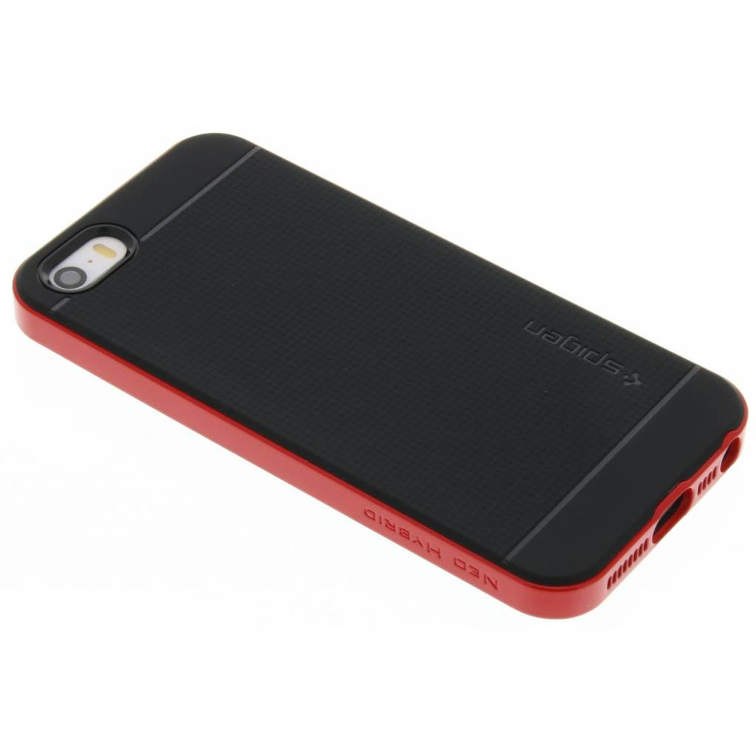 Neo Hybrid Case voor de iPhone 5 / 5s / SE - Dante Red