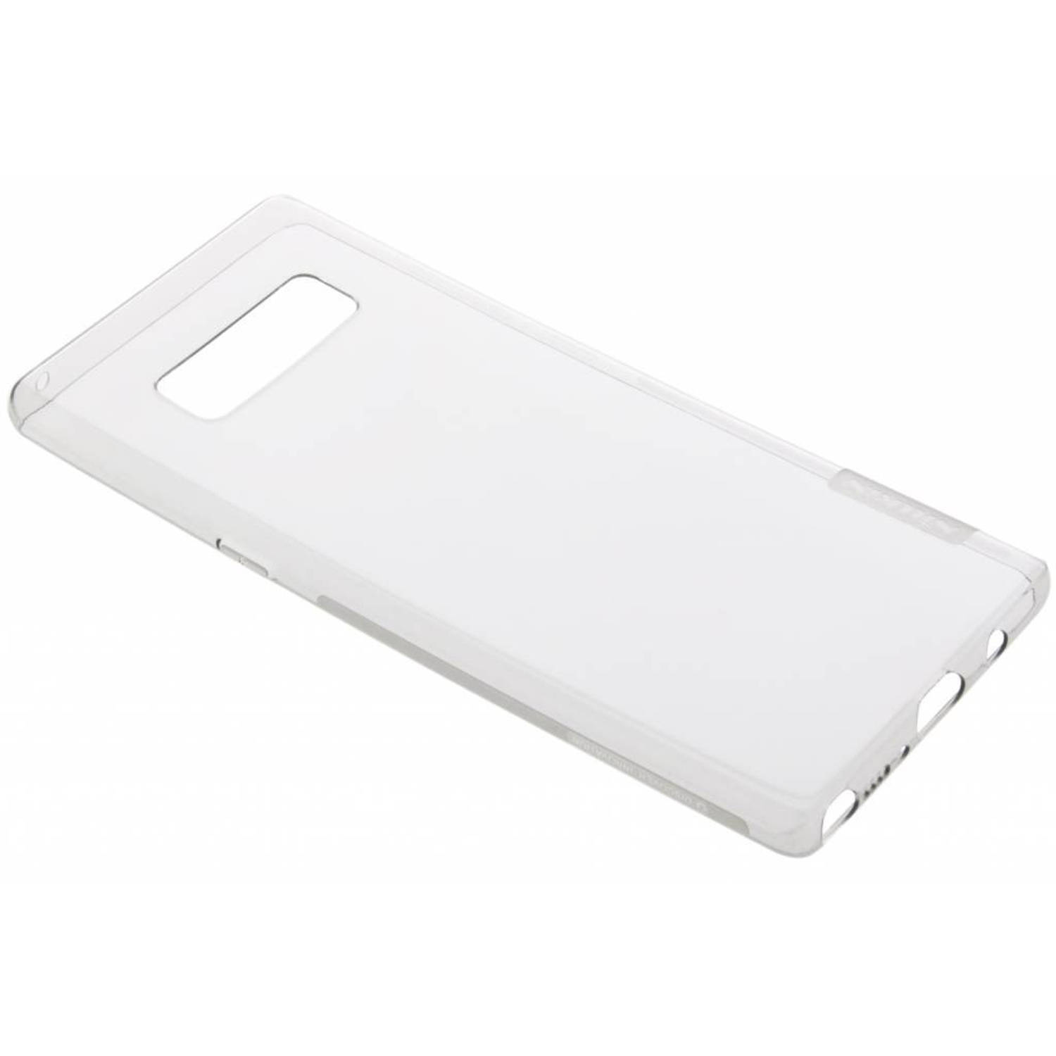 Grijze Nature TPU case voor de Samsung Galaxy Note 8