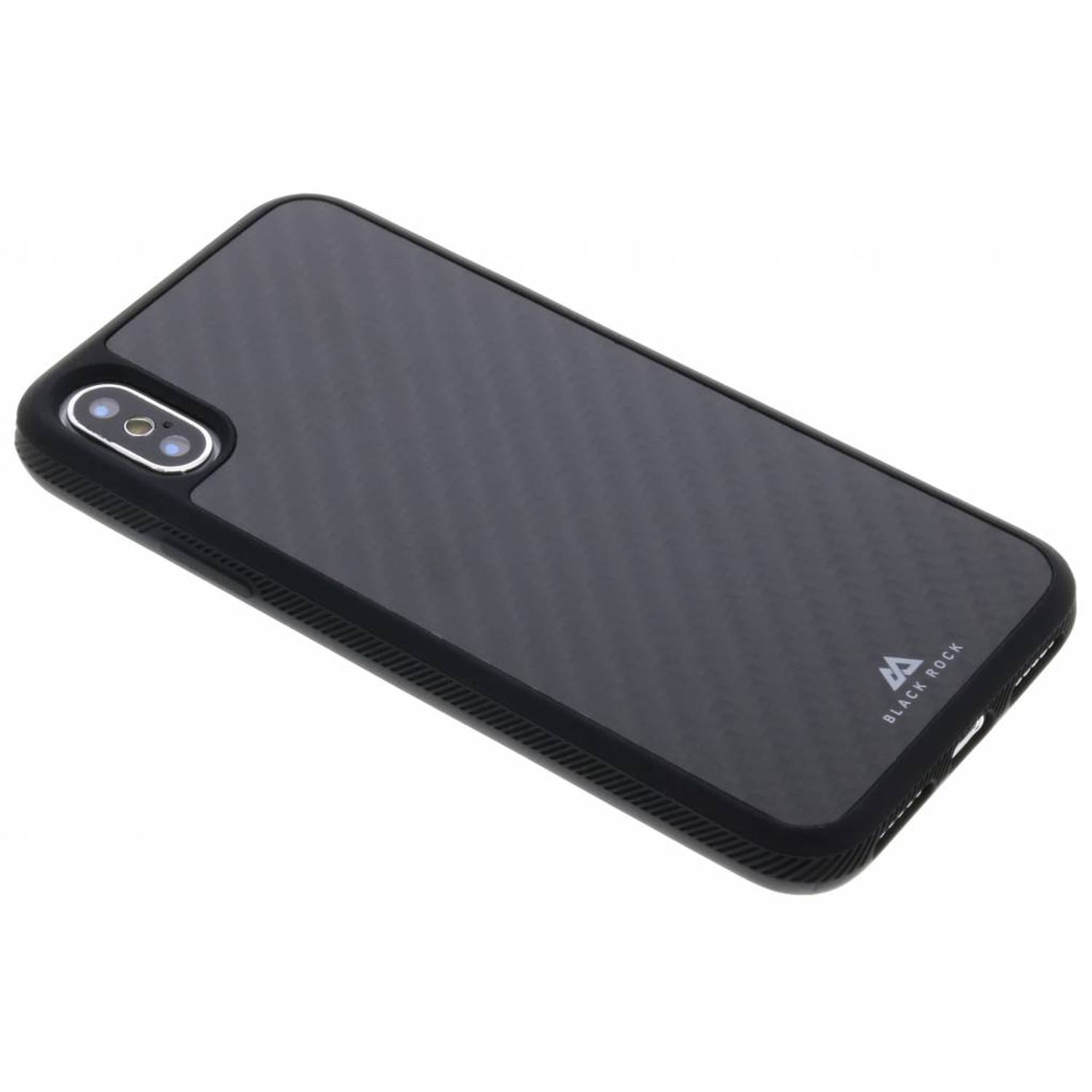 Zwarte Real Carbon Case voor de iPhone Xs / X