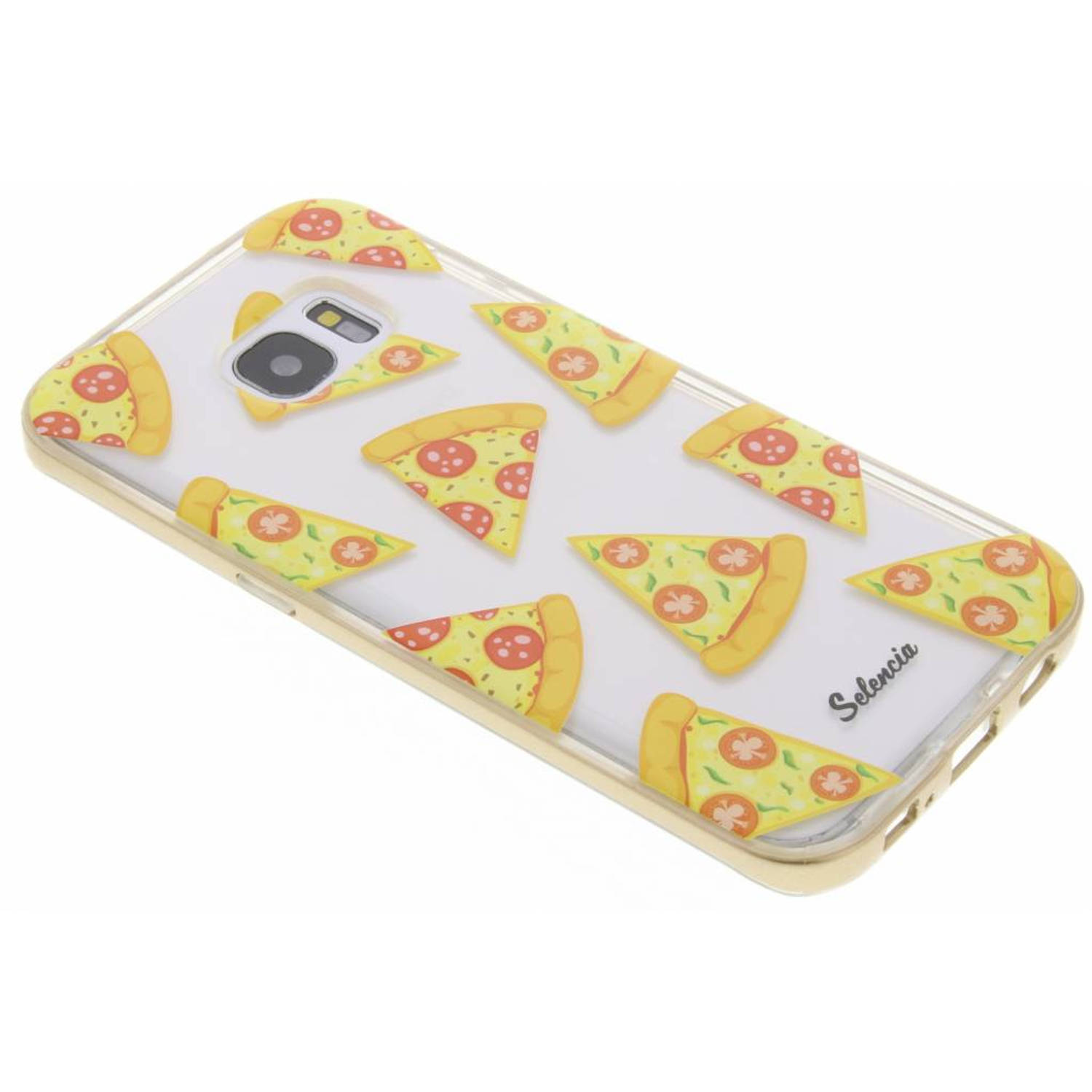 Foodies pizza tpu hoesje voor de samsung galaxy s7 edge