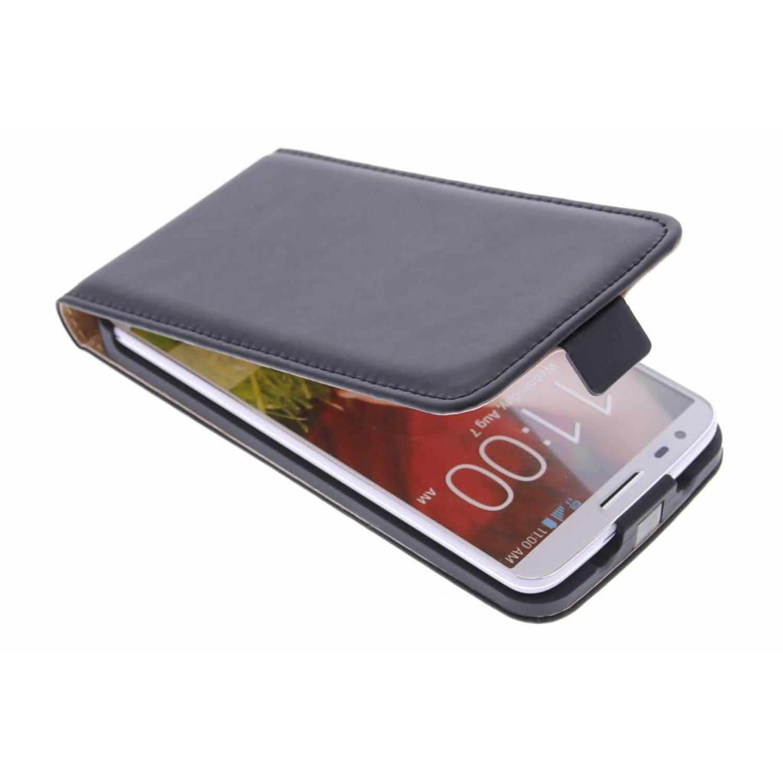 Luxe Flipcase voor de LG G2 - Zwart