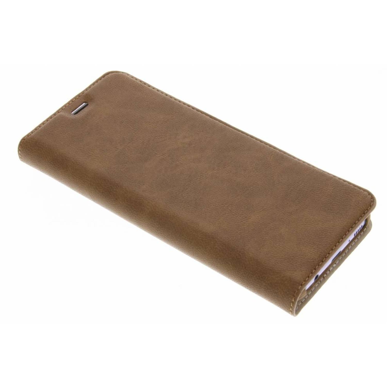 Bruine Guard Booklet Case voor de Samsung Galaxy S8