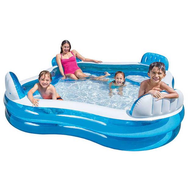 Intex Familie Lounge zwembad - 229 x 229 x 66 cm