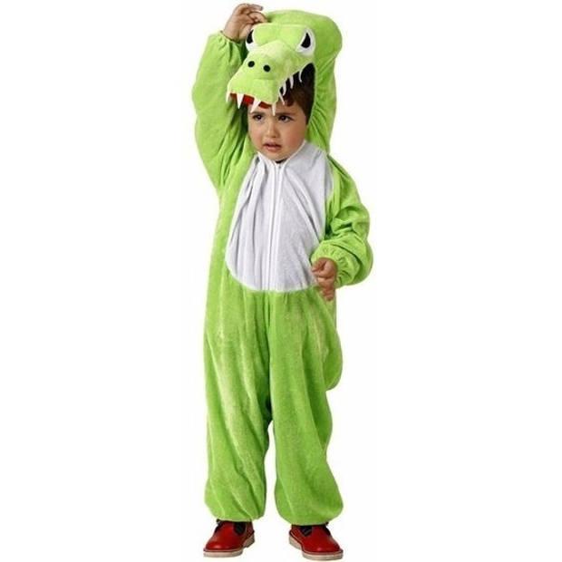 Krokodil Croco kostuum / outfit voor kinderen - dierenpak 116 (5-6 jaar)