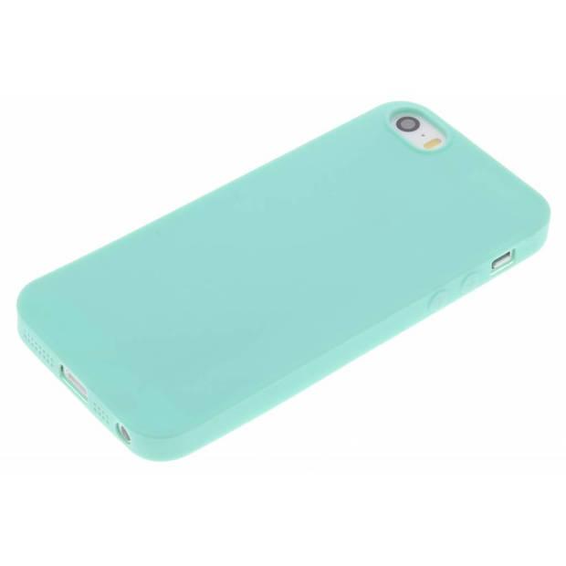 Mintgroen Color TPU hoesje voor de iPhone 5 / 5s / SE