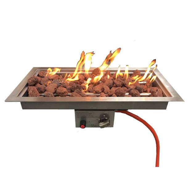 Enjoyfires Inbouwbrander 60x30x14 cm